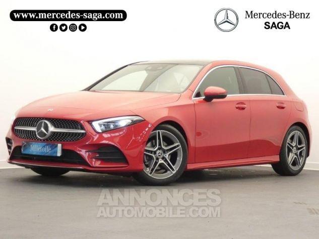 Mercedes Classe A 180 d AMG Line 7G-DCT Rouge jupiter non métallisé Occasion - 0