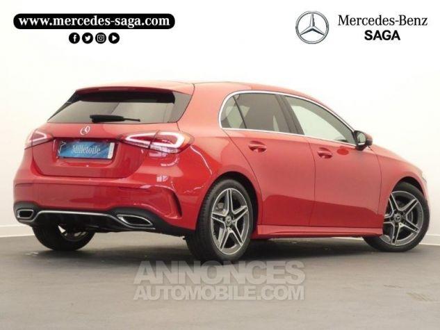 Mercedes Classe A 180 d AMG Line 7G-DCT Rouge jupiter non métallisé Occasion - 1