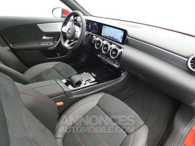 Mercedes Classe A 180 d AMG Line 7G-DCT Rouge jupiter non métallisé Occasion - 3
