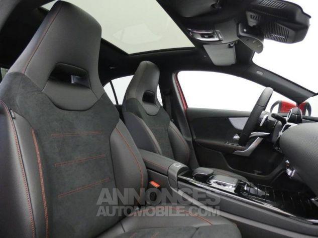 Mercedes Classe A 180 d AMG Line 7G-DCT Rouge jupiter non métallisé Occasion - 4