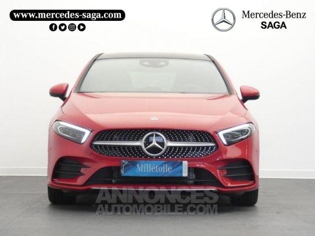 Mercedes Classe A 180 d AMG Line 7G-DCT Rouge jupiter non métallisé Occasion - 5