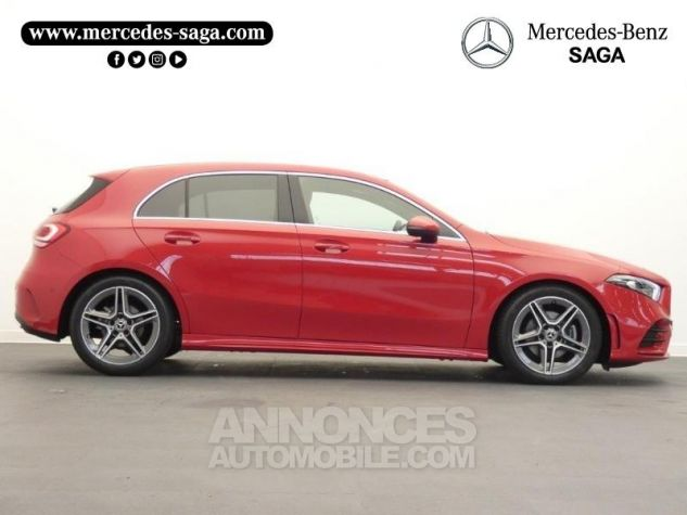 Mercedes Classe A 180 d AMG Line 7G-DCT Rouge jupiter non métallisé Occasion - 6