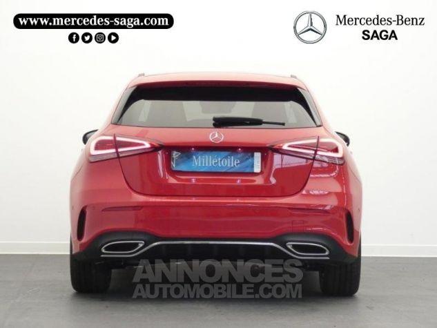 Mercedes Classe A 180 d AMG Line 7G-DCT Rouge jupiter non métallisé Occasion - 7