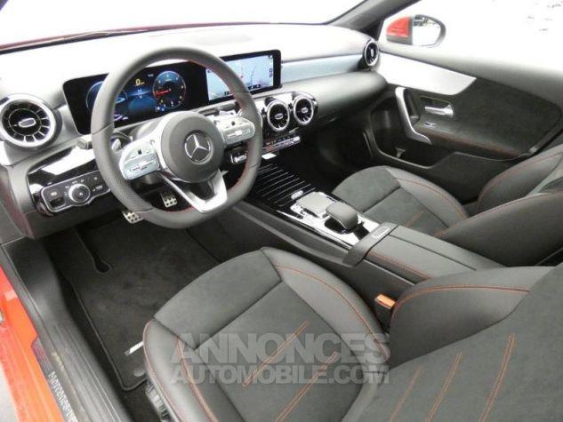 Mercedes Classe A 180 d AMG Line 7G-DCT Rouge jupiter non métallisé Occasion - 8