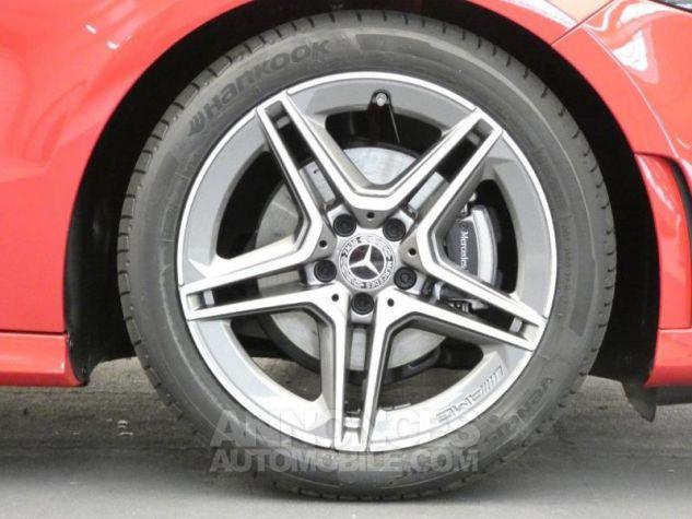 Mercedes Classe A 180 d AMG Line 7G-DCT Rouge jupiter non métallisé Occasion - 15