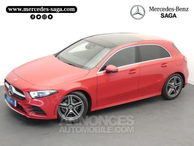 Mercedes Classe A 180 d AMG Line 7G-DCT Rouge jupiter non métallisé Occasion - 17