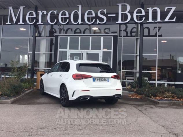 Mercedes Classe A 180 d AMG Line 7G-DCT Blanc polaire non métallisé Occasion - 1