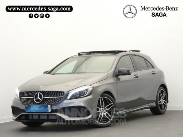Mercedes Classe A 180 d Fascination 7G-DCT Gris montagne métallisé Occasion - 0