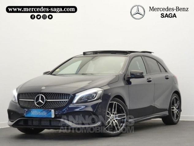 Mercedes Classe A 180 d Fascination 7G-DCT Bleu Cavansite Occasion - 0