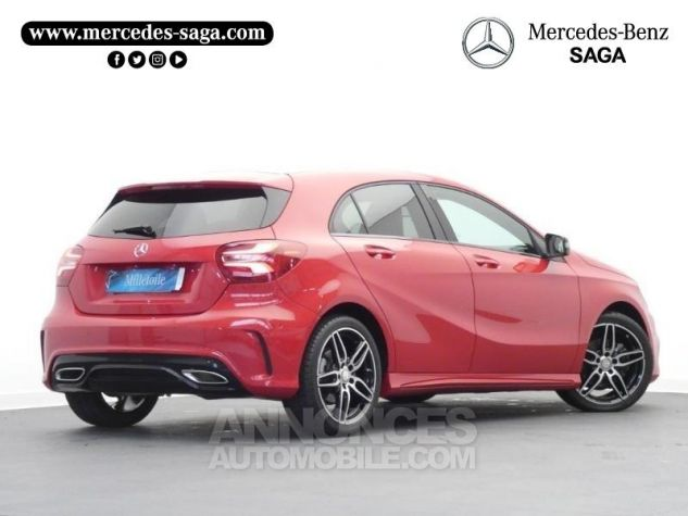 Mercedes Classe A 180 d Fascination 7G-DCT Rouge Jupiter Occasion - 1