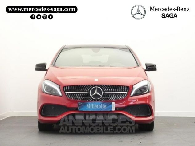 Mercedes Classe A 180 d Fascination 7G-DCT Rouge Jupiter Occasion - 4