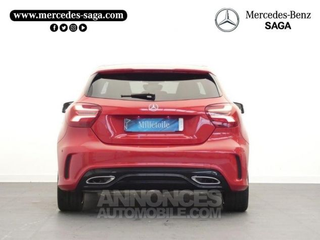 Mercedes Classe A 180 d Fascination 7G-DCT Rouge Jupiter Occasion - 6
