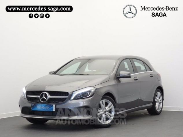 Mercedes Classe A 180 Sensation 7G-DCT GRIS MONTAGNE Occasion - 0