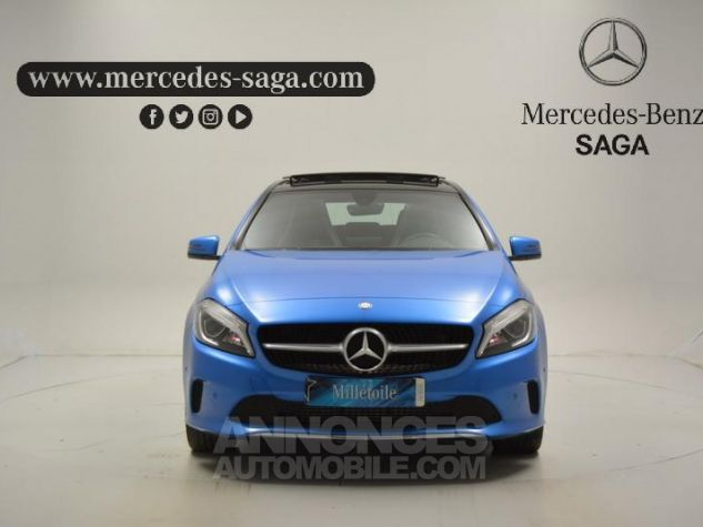 Mercedes Classe A 180 Sensation 7G-DCT BLEU Occasion - 4