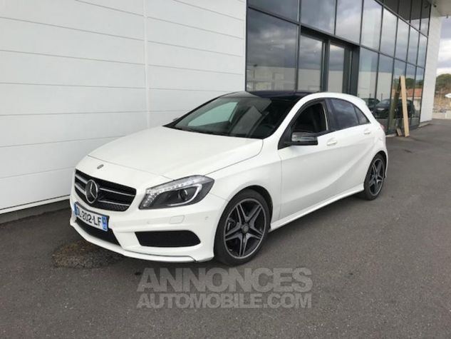 Mercedes Classe A 200 CDI Fascination 7G-DCT BLANC Occasion - 0