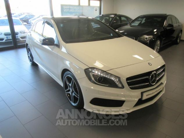 Mercedes Classe A 200 CDI Fascination 7G-DCT BLANC Occasion - 8