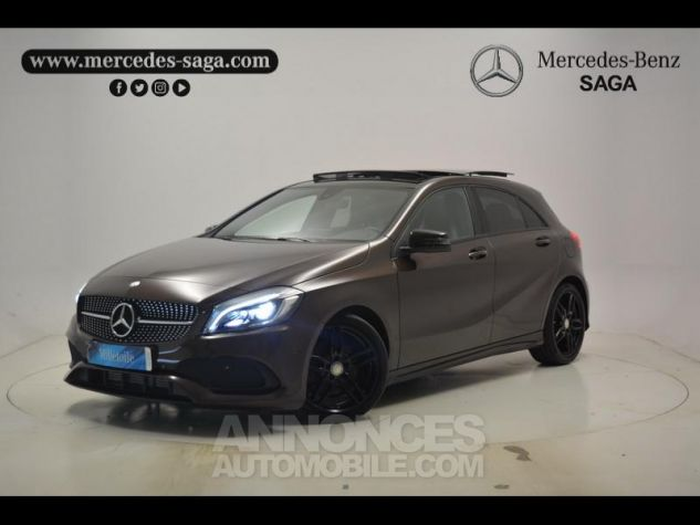 Mercedes Classe A 200 Fascination 7G-DCT Marron Orient Occasion - 0
