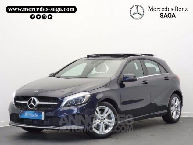 Mercedes Classe A 200 Sensation 7G-DCT Bleu Foncé Métal Occasion - 0