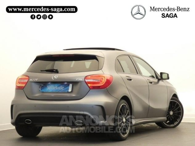 Mercedes Classe A 220 CDI Fascination 7G-DCT Gris Montagne MAGNO Occasion - 1