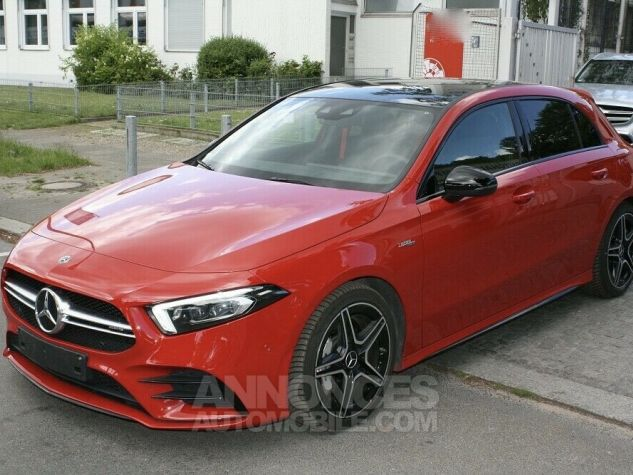 Mercedes Classe A 35 AMG 4MATIC 306ch PANO TETE HAUTE 360 PACK NOIR Rouge Occasion - 1