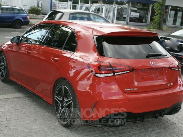 Mercedes Classe A 35 AMG 4MATIC 306ch PANO TETE HAUTE 360 PACK NOIR Rouge Occasion - 13