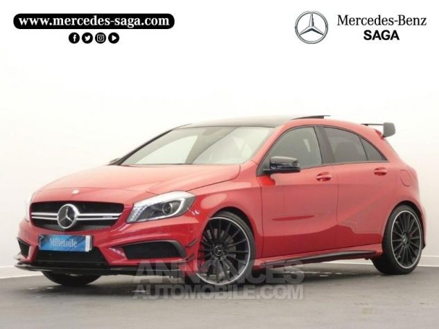 Mercedes Classe A 45 AMG 4Matic SPEEDSHIFT-DCT Rouge Jupiter Occasion - 0