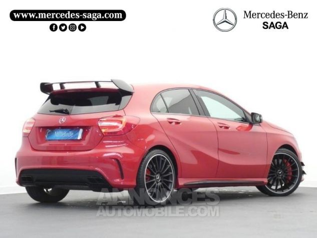 Mercedes Classe A 45 AMG 4Matic SPEEDSHIFT-DCT Rouge Jupiter Occasion - 1