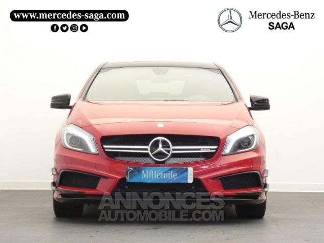 Mercedes Classe A 45 AMG 4Matic SPEEDSHIFT-DCT Rouge Jupiter Occasion - 5