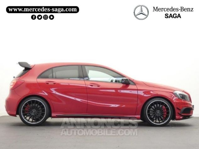 Mercedes Classe A 45 AMG 4Matic SPEEDSHIFT-DCT Rouge Jupiter Occasion - 6