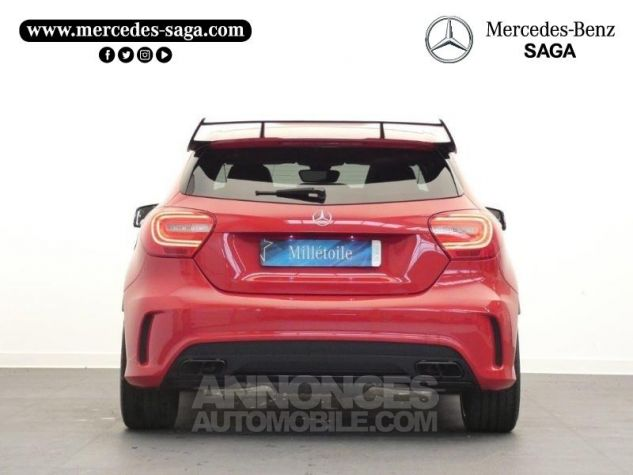Mercedes Classe A 45 AMG 4Matic SPEEDSHIFT-DCT Rouge Jupiter Occasion - 7