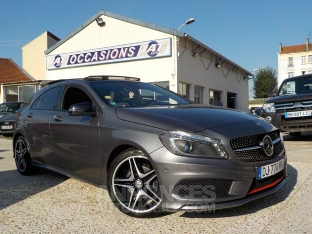 Mercedes Classe A W176 180 CDI FASCINATION 7G-DCT GRIS FONCE Occasion - 1