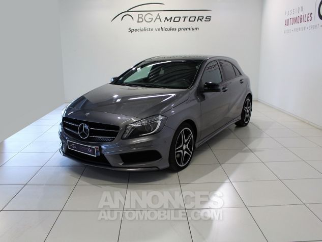 Mercedes Classe A (W176) 200 CDI FASCINATION 4MATIC 7G-DCT Gris Occasion - 0