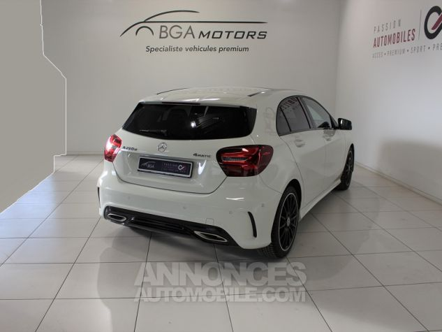 Mercedes Classe A (W176) 220 D FASCINATION 4MATIC 7G-DCT Blanc Occasion - 1