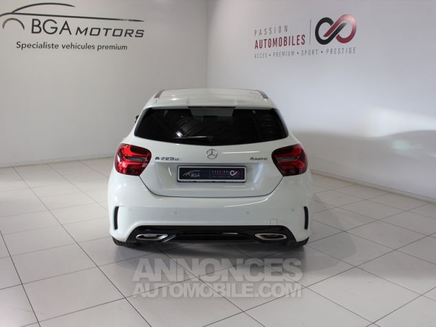 Mercedes Classe A (W176) 220 D FASCINATION 4MATIC 7G-DCT Blanc Occasion - 11