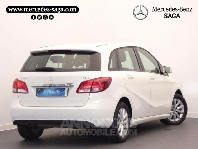 Mercedes Classe B 180 CDI Business 7G-DCT Blanc Cirrus Occasion - 1
