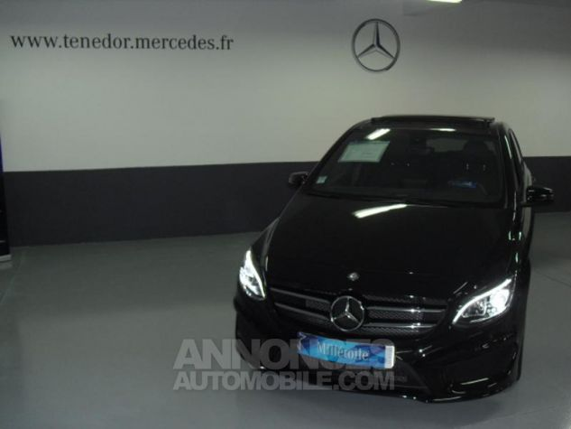 Mercedes Classe B 180 CDI Fascination 7G-DCT noir cosmos Occasion - 0
