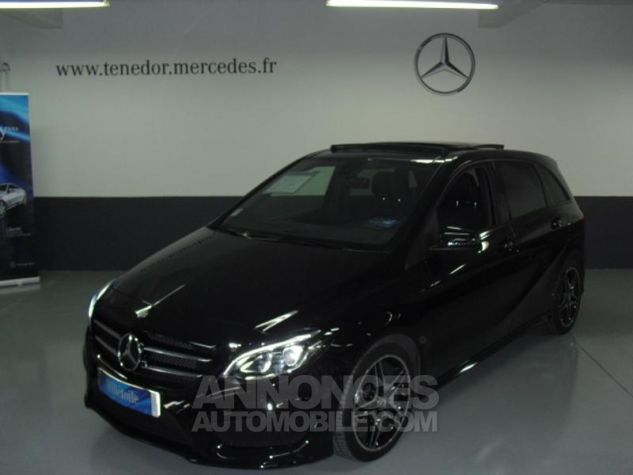 Mercedes Classe B 180 CDI Fascination 7G-DCT noir cosmos Occasion - 1
