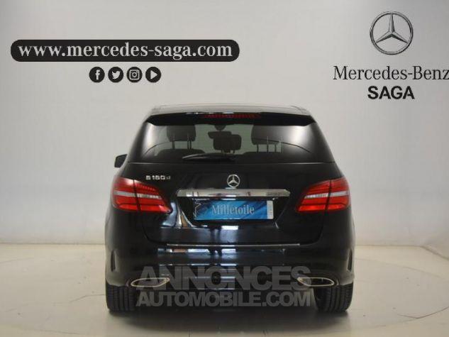 Mercedes Classe B 180 d Fascination Noir Cosmos métallisé Occasion - 3