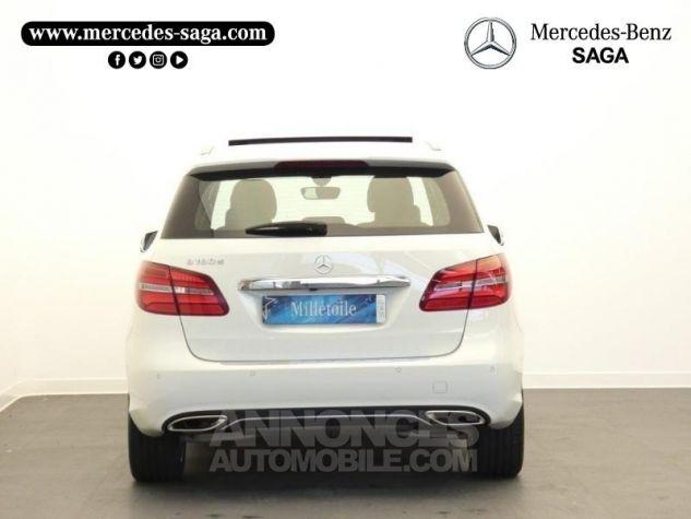 Mercedes Classe B 180 d Sensation 7G-DCT Blanc Cirrus Occasion - 7