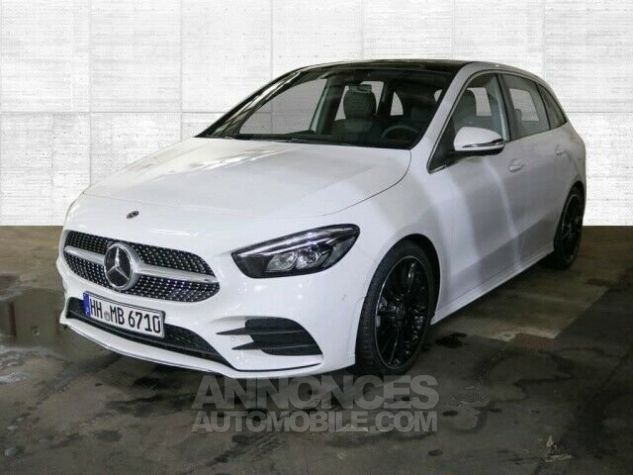 Mercedes Classe B 200 AMG line  Blanche Occasion - 1
