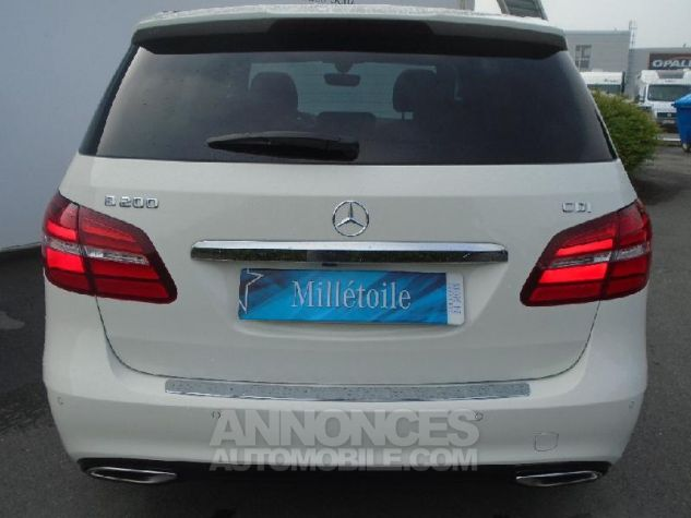 Mercedes Classe B 200 CDI Fascination 7G-DCT BLANC Occasion - 14