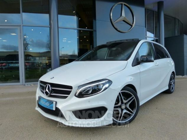 Mercedes Classe B 200 CDI Fascination 7G-DCT Blanc Occasion - 0
