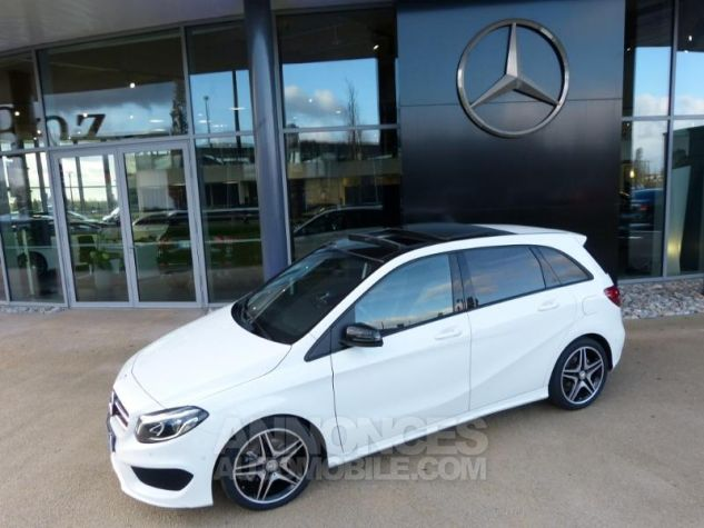 Mercedes Classe B 200 CDI Fascination 7G-DCT Blanc Occasion - 6