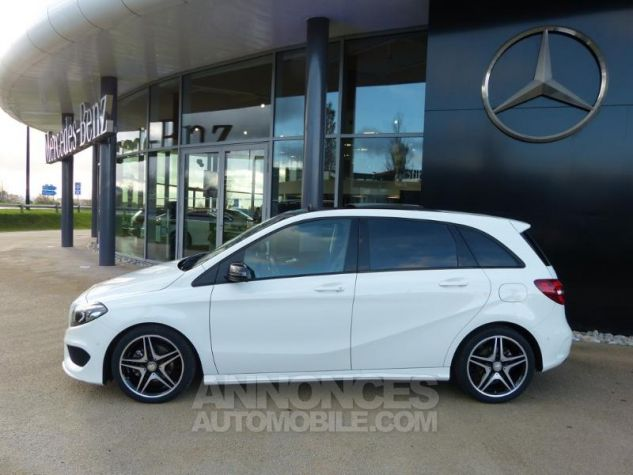 Mercedes Classe B 200 CDI Fascination 7G-DCT Blanc Occasion - 8