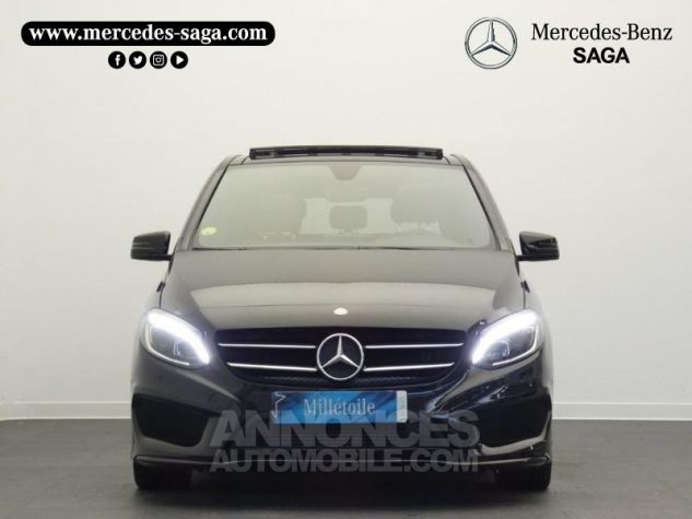 Mercedes Classe B 200 d Fascination 7G-DCT Noir Cosmos Occasion - 5