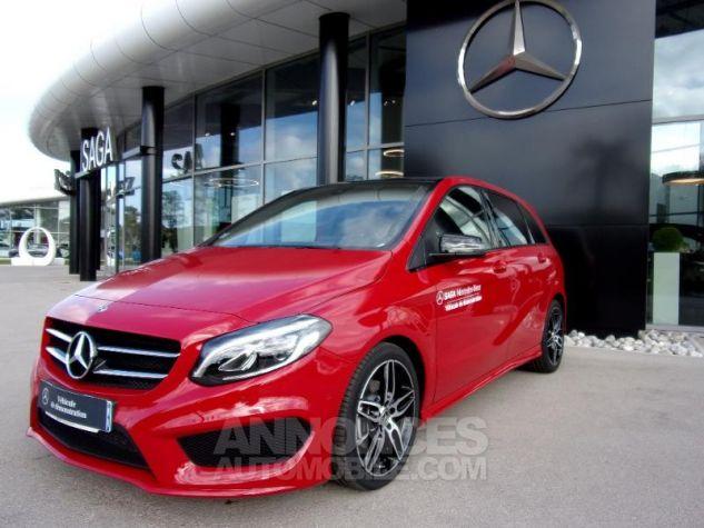 Mercedes Classe B 200d 136ch Fascination Rouge jupiter non métallisé Neuf - 0