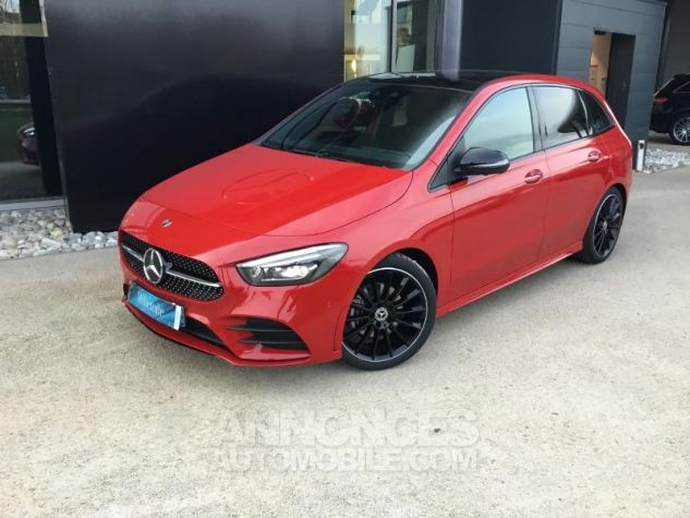 Mercedes Classe B 200d 150ch AMG Line 8G-DCT Rouge jupiter Occasion - 0