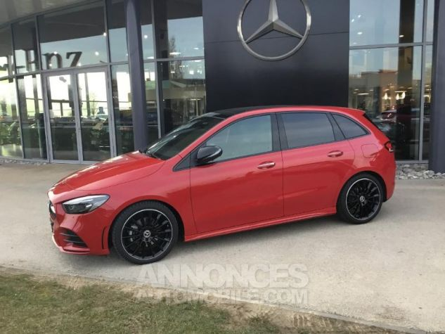 Mercedes Classe B 200d 150ch AMG Line 8G-DCT Rouge jupiter Occasion - 1