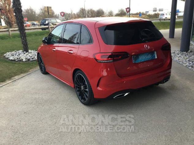Mercedes Classe B 200d 150ch AMG Line 8G-DCT Rouge jupiter Occasion - 2