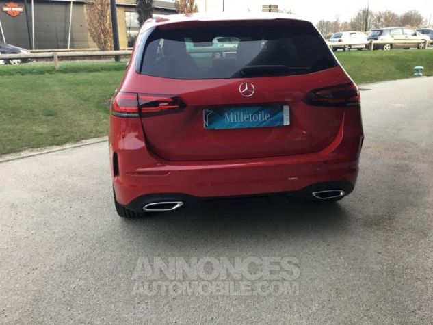 Mercedes Classe B 200d 150ch AMG Line 8G-DCT Rouge jupiter Occasion - 4